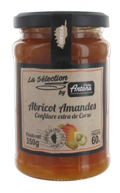 Aprikossyltetøy med mandler - 350g