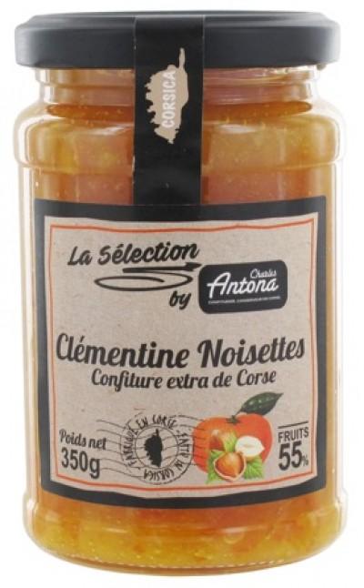 Klementinsyltetøy med hasselnøtter - 350g