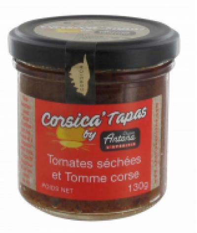 Tapenade av tørkede tomater m/ fåreost - 130g