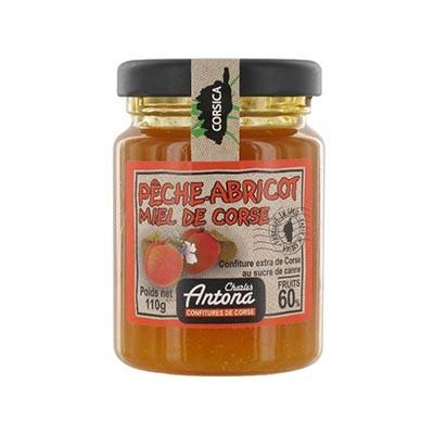 Ferskensyltetøy m/honning - 110g
