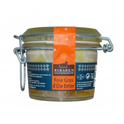 Foie gras d'oie (gåselever) - 130g