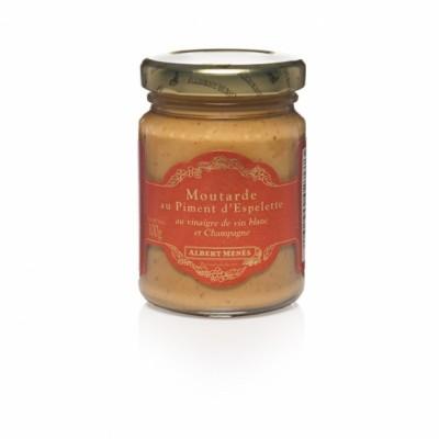 Sennep med baskisk chilli - 100g