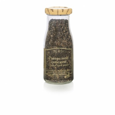 Sort pepper (knust) - 70g